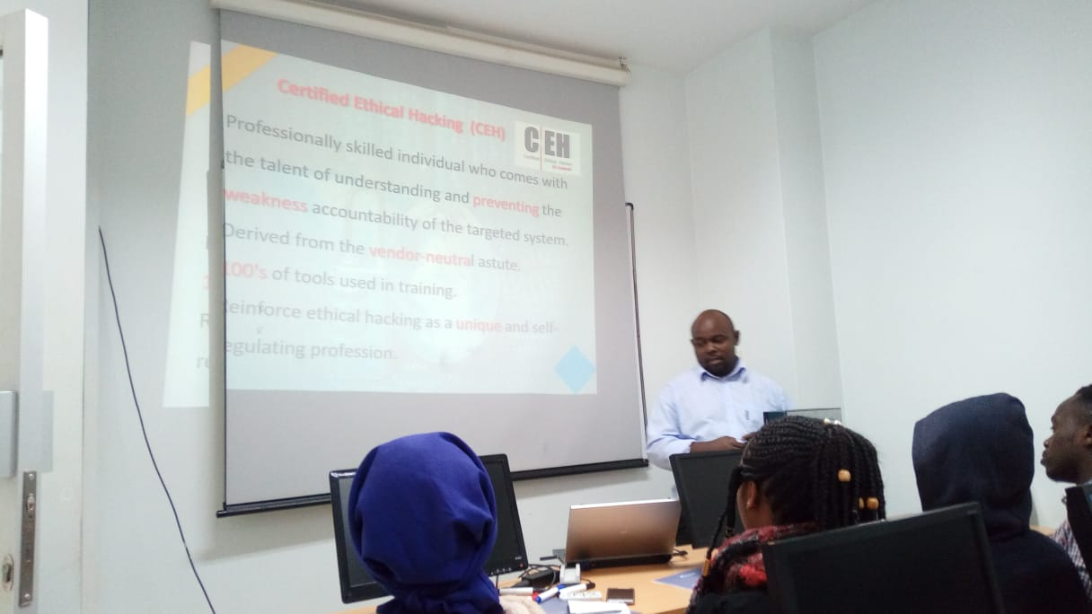 Kibabii University Computer Science Students at Techno Brain