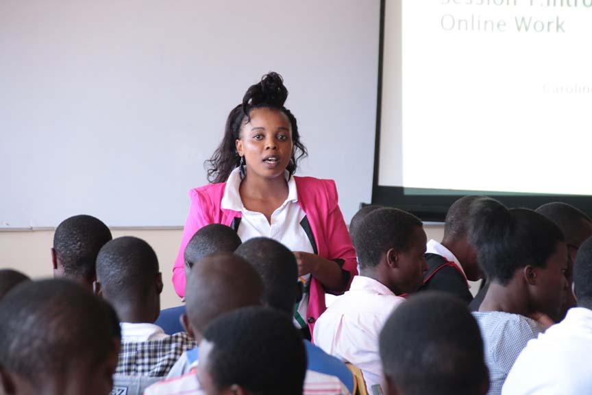 Ajira Training at Kibabii University Gallery