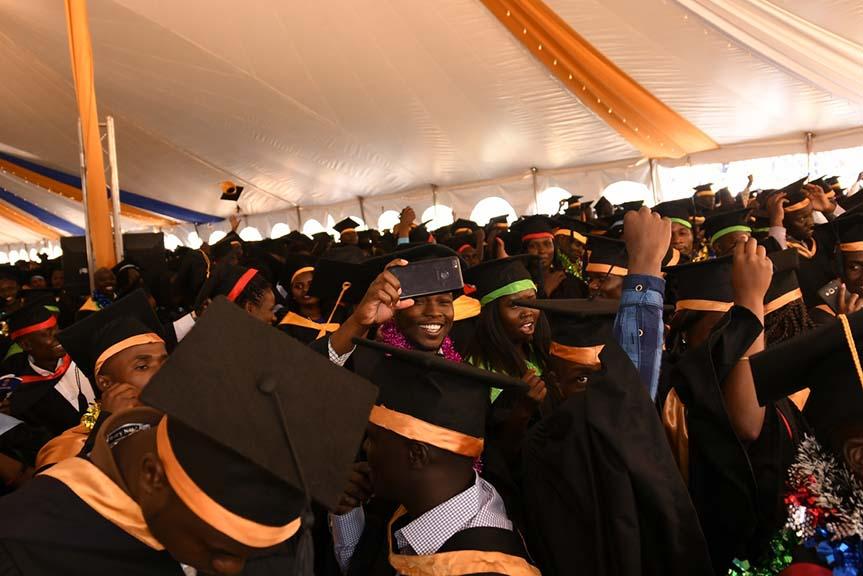 Kibabii University Celebrate 3rd Graduation Ceremony