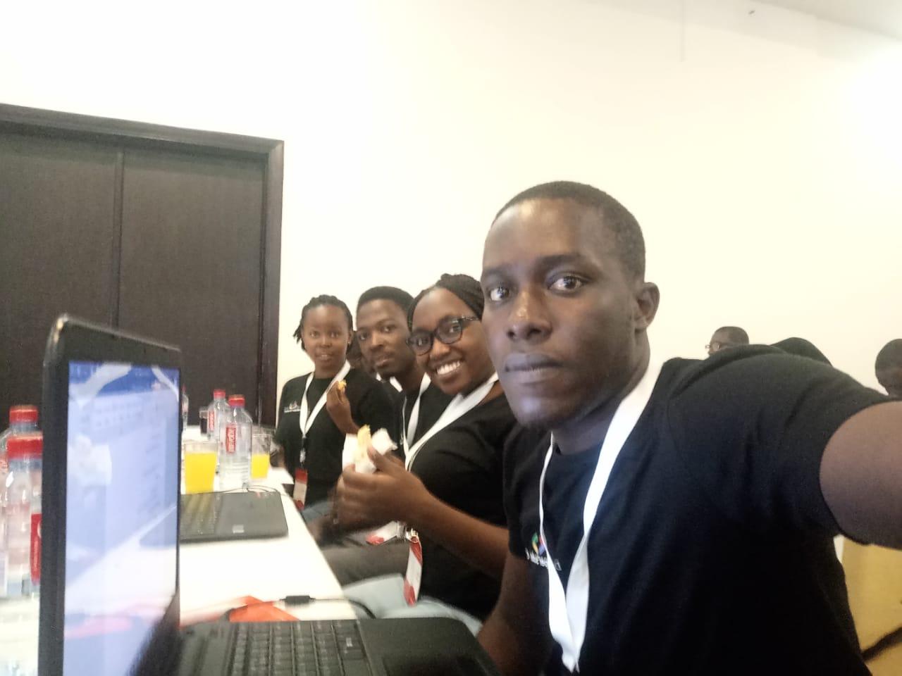 Samuel-Ouma-at-Google-Developer-Student-Clubs-Lead-Summit_1